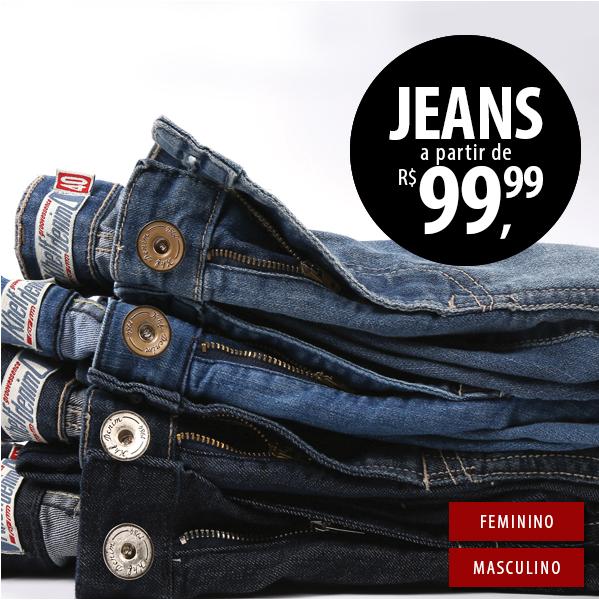 Promo??o de 2 Jeans