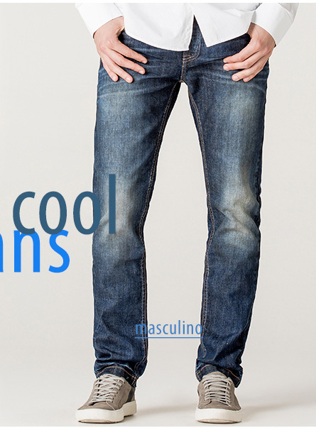 New Cool Jeans Masculino